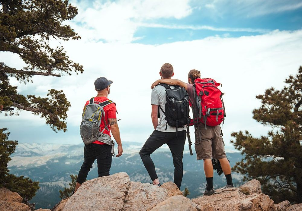 choice-for-men hiking in boulder