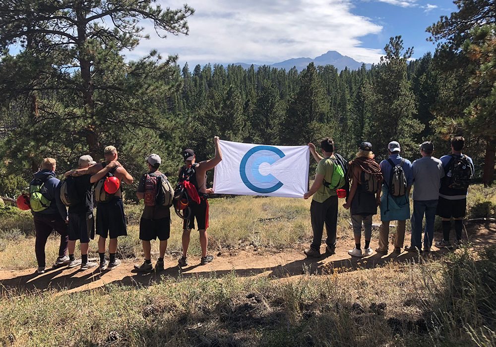 Rocky Mountain National park - Choice House Flag